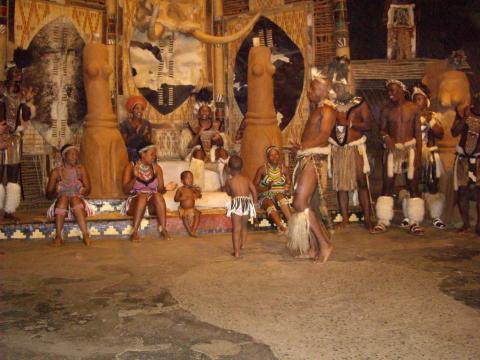Zulu Tribal Dancing