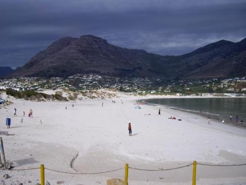 Houtbaai beach/Cape Town