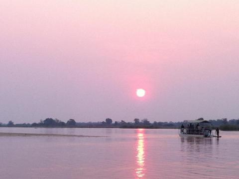 Sunset on the Kwando River (Caprivi)
