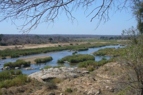 Riverviewpoint in Kruger Park