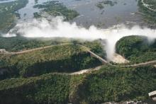 View of the Vic Falls
