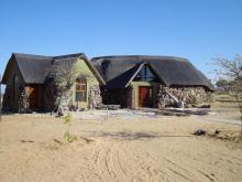 Accomodation in Kalahari (nearby Botswana border)
