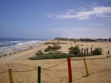 Beach nearby Hentiesbaai