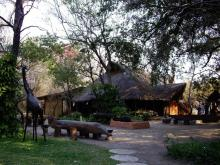 Accomodation along Okavango River